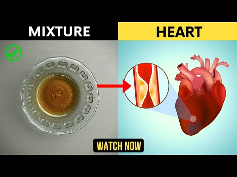 This 2 Ingredients Mixture Can Help Your Heart & Lower High Blood Pressure