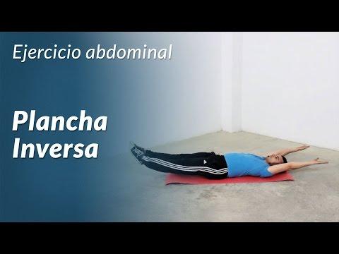 Plancha Inversa: el mejor ejercicio para abdominales