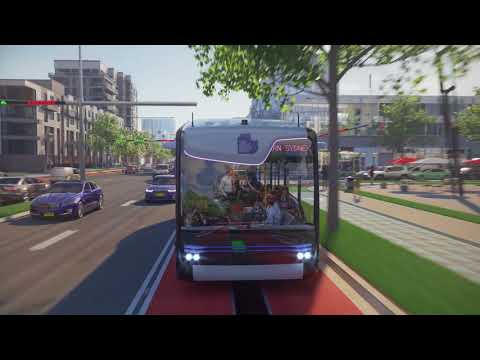 Driverless Electric Buses Visualisation - Liverpool City Council