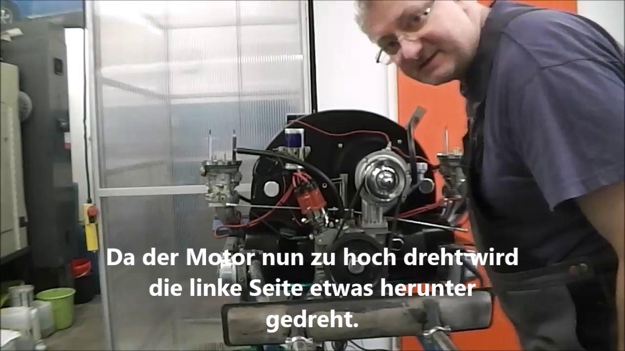 ORRATECH Weber Doppelvergaser synchronisieren 40IDF70OD auf Typ1 Motor