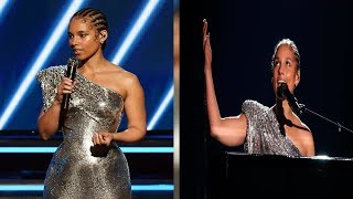 Grammys 2020: Alicia Keys covers Lewis Capaldi hit, Someone You Loved