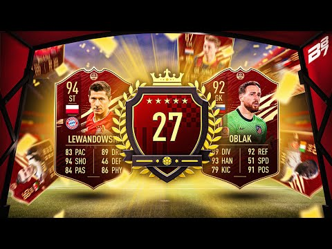 ONE OF THE BEST! 27TH IN WORLD FUT CHAMPIONS REWARDS! | FIFA 21 ULTIMATE TEAM |
