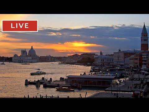 Webcam Venice Live - St. Mark\'s Basin in Live Streaming from Tribute to Music Venice
