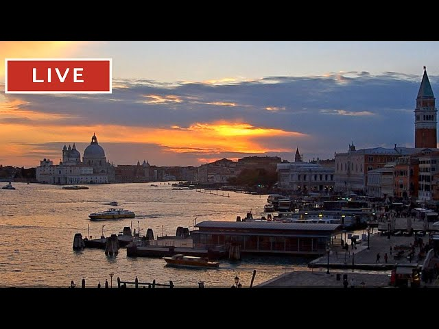 Webcam Venice Live - St. Mark's Basin in Live Streaming from Tribute to Music Venice