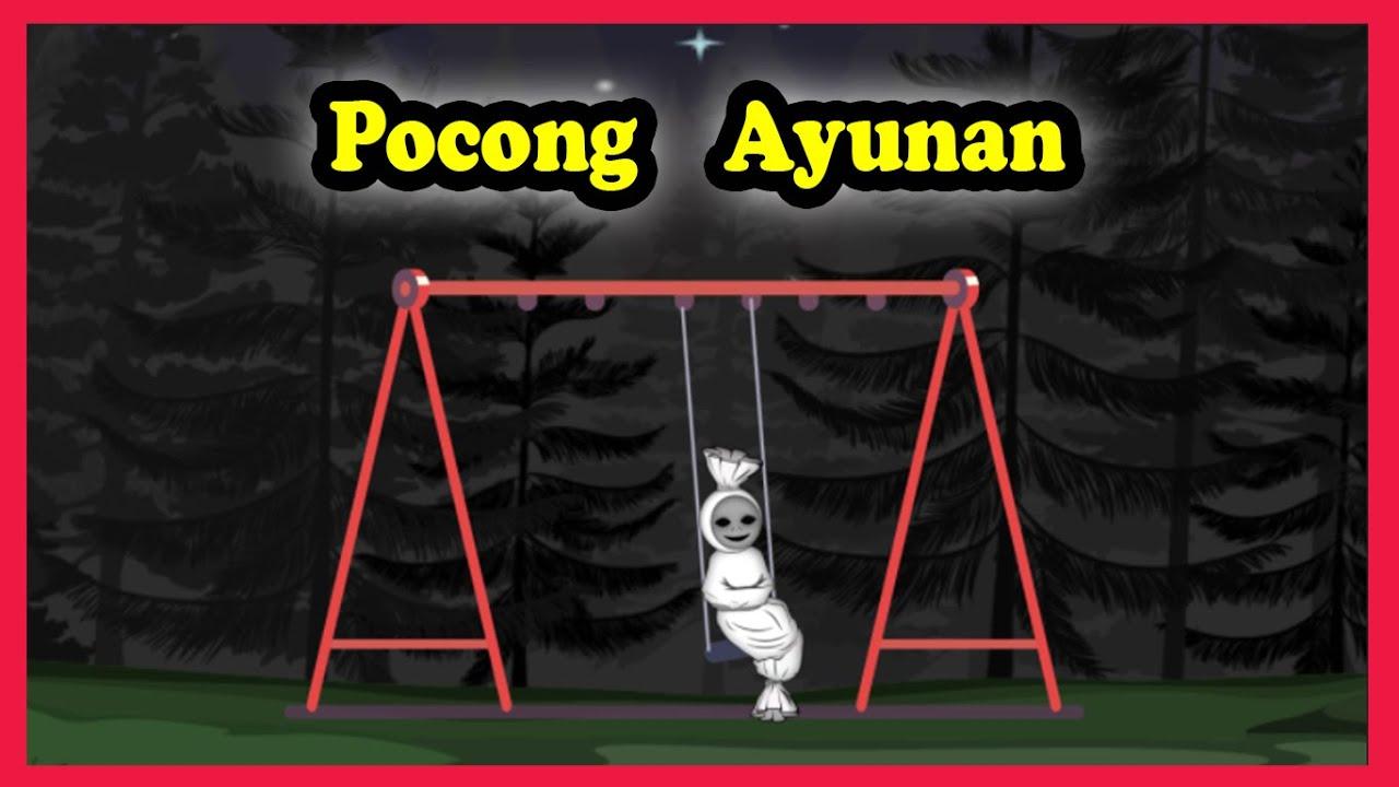 Pocong Main Ayunan Dikerjain Tuyul | Kartun Hantu Pocong Lucu