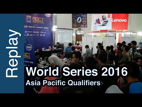 HWBOT World Series Asia Pacific Qualifier - HWBOT World Tour 2016 - Asia Pacific