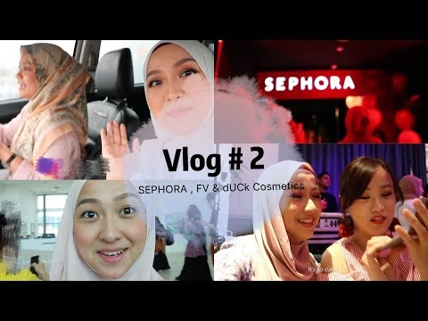 Vlog #2: SEPHORA Christmas Party, FV Book Launch & dUCk Cosmetics Get-together