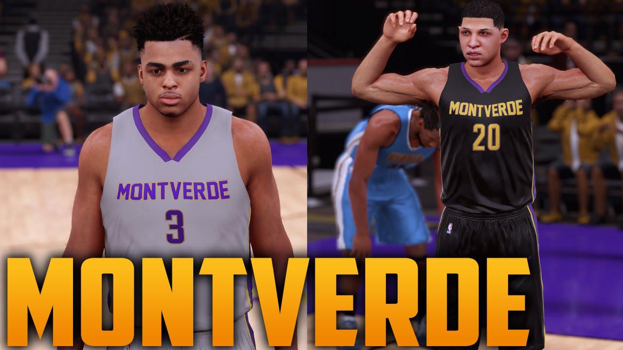 bffa6084c NBA 2K16 Montverde Academy Highschool Jersey   Court Tutorial - YouTube