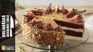 Jahodový dort - Roman Paulus - Kulinářská Akademie Lidlu