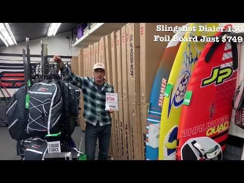 Slingshot Dialer Windsurf Foil Board Just $749 at Windance Boardshop