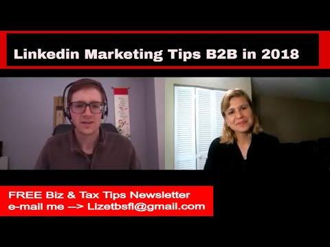 Linkedin Marketing Tips B2B (Jake Jorgovan) 2018 Expert Ep 13  🎬