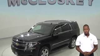 A98452CT Used 2015 Chevrolet Tahoe LS 4WD SUV Black Test Drive, Review, For Sale -
