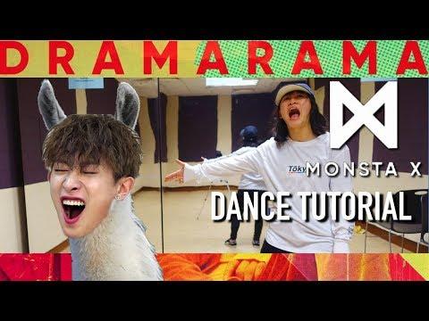 Monsta X (몬스타엑스) - DRAMARAMA Dance Tutorial | Full W Mirror [Charissahoo]