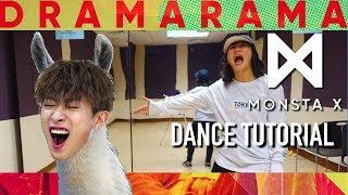 Video Monsta X (몬스타엑스) - DRAMARAMA Dance Tutorial | Full w Mirror [Charissahoo] download MP3, 3GP, MP4, WEBM, AVI, FLV Juni 2018