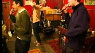 "The Beastie Boys- ""Three MC's And One DJ"" In Studio"