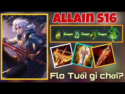 ALLAIN - Đồ + Phù Hiệu này thì Late Game không có đối thủ !