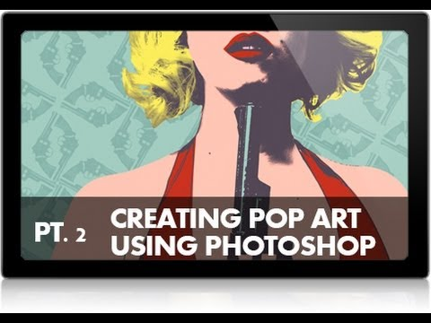 How to Create a Pop Art Image in Photoshop (Part 2)