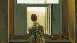 Caspar David Friedrich, Woman at a Window, 1822