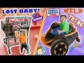 WE LOST OUR BABY while CHRISTMAS SHOPPING! Tickle Haha + POWER WHEELS Wild Thing (FUNnel Vision)