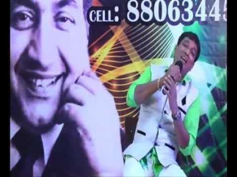 Mujhe Ishq Hai Tujhi Se Meri Jaan Song By Shakeel Goa (Mohammed Rafi Voice Copy)