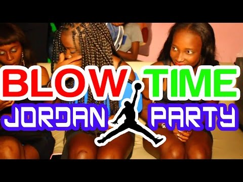 BLOW TIME | Jordan Party + Birthday Momo & Taf Taf | D24