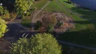 Drone Flight Over Longview Washington