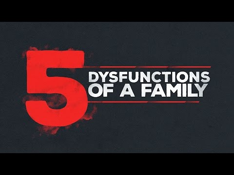 5 Dysfunctions of a Family   Jorge Romero
