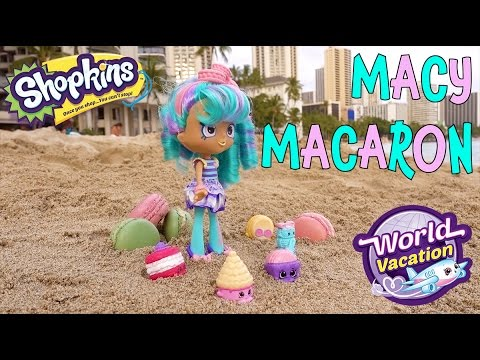 Shopkins Season 8 World Vacation Peppamint Shoppie Doll