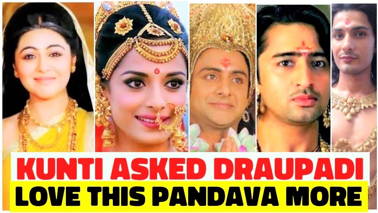 When Kunti Asked Draupadi to Love This Pandava More