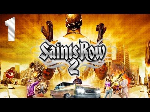 Прохождение Saints Row 2 (co-op) - Часть 1 [Побег из Шоушенка]