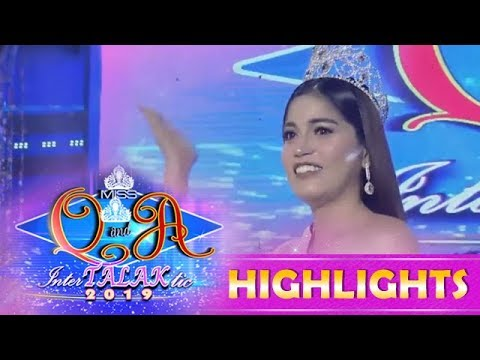 It † s Showtime Miss Q & A: Anne Patricia Lorenzo is the new reigning Miss Q & A 2019