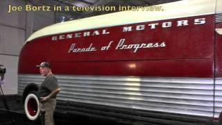 GM Motorama Bus, Bortz Cars, Futurliner Parade of Progress