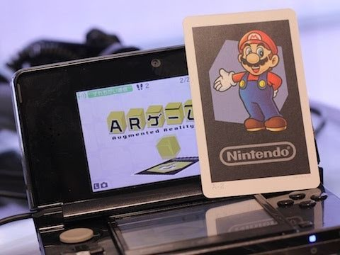 Mario in Augmented Reality for Nintendo 3DS