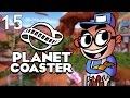 Northernlion Plays - Planet Coaster - Episode 15 [The Cog of Battle]