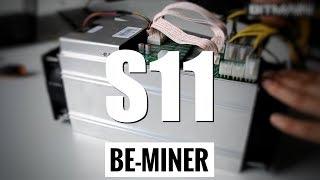 Antminer S11 майнинг Bitcoin с новым асиком под SHA-256