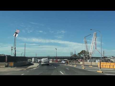 T2T & Darlington Upgrade South Road Railway Crossings Greater Adelaide 12 Jan 2017 Progress Video