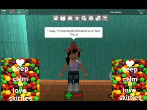 Roblox Work At A Pizza Place Outfit Codes Girls Youtube