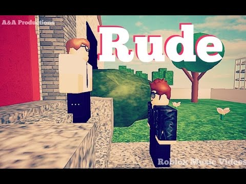 Rude Roblox Music  w Fans