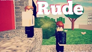 Rude Roblox Music Video w/ Fans