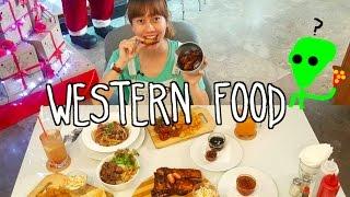 MUKBANG WESTERN FOOD