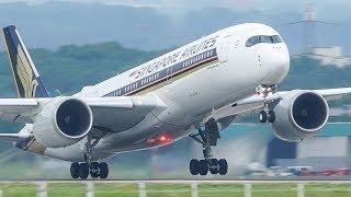 AIRBUS 350 Departure - Singapore Airlines