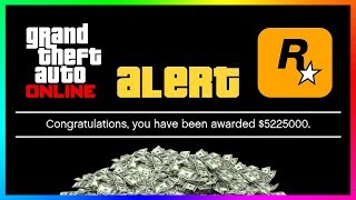 FREE Money From Rockstar Is Here For ALL Players In GTA 5 Online..SECRET Things About The NEW Event!