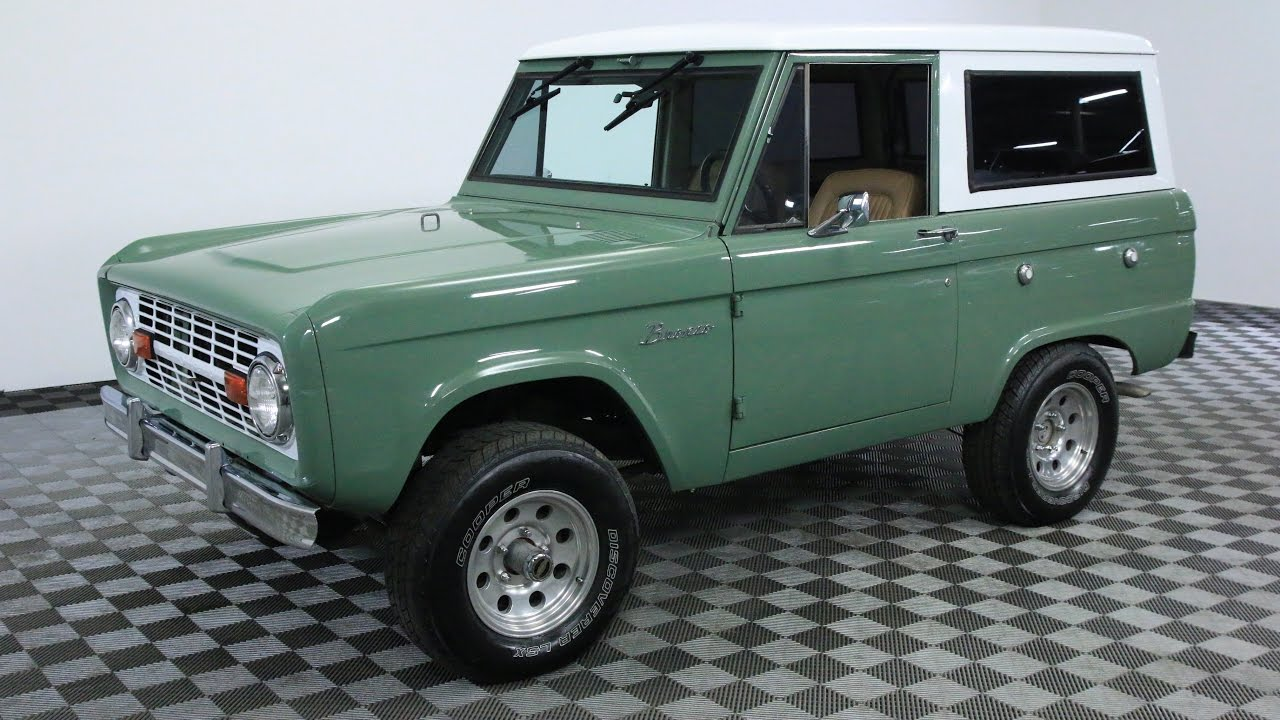 1969 FORD BRONCO GREEN