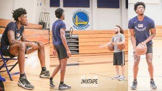 Golden State Warriors #2 Pick James Wiseman Exclusive Workout