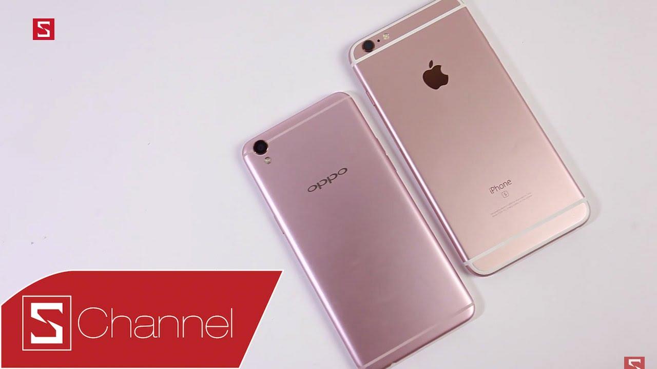 Schannel - OPPO F1 Plus vs iPhone 6S Plus: Giống nhau bất ngờ mà khác biệt  cũng không ít - YouTube