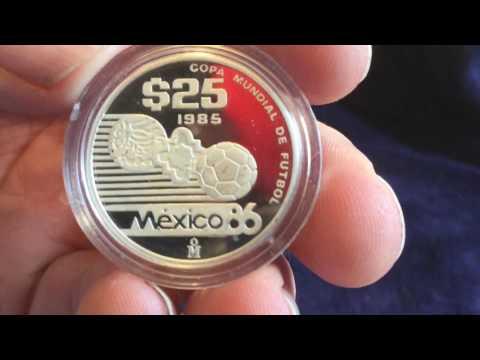 Mexico World Cup Silver Coin!