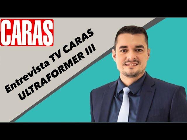 Entrevista Dr. Alan Ost para a TV CARAS falando sobre o ULTRAFORMER III!