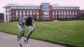 CASSIE! A TWO-LEGGED ROBOT