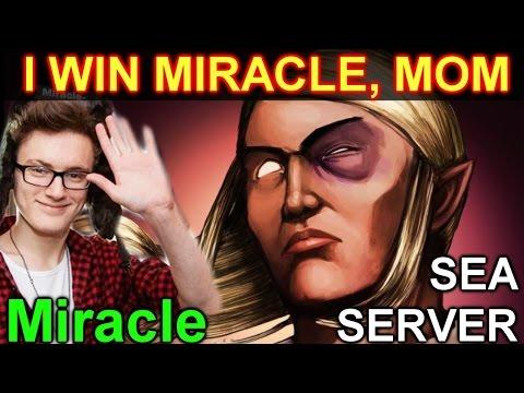 Miracle Invoker -Dota 2: I Win Miracle, MOM @ SEA Server
