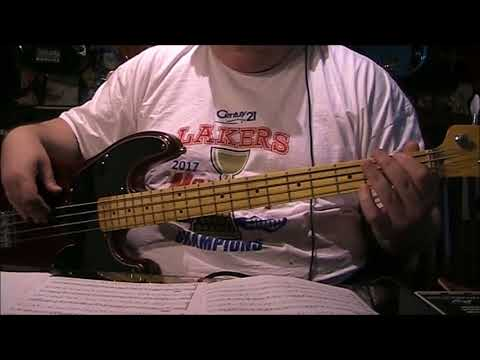 Ed Sheeran Perfect Bass Cover with Notes & Tab